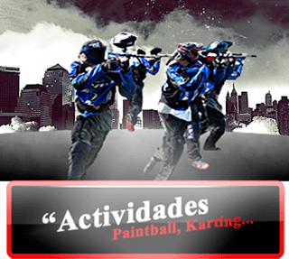 Beauty party, Gimkanas, Karting, Paintball en Valencia